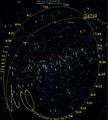 Comet 96P-Machholz 1 perihelion 2012 skymap.png