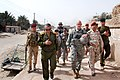 Commanders discuss security for Iraqi parliamentary election in Amarah 2010-03-04.jpg