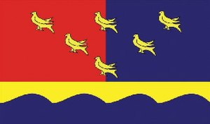 Flag of Sussex - BBC competition Winner