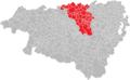 Communauté de communes de Lacq-Orthez sur la carte des Pyrénées Atlantiques .png