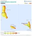 Comoros GHI Solar-resource-map GlobalSolarAtlas World-Bank-Esmap-Solargis.png