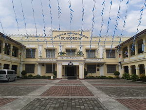 Concordia College (Manila) - Facade of the School