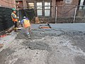 Concrete pour for the 63rd Street and 2nd Avenue ventilation facility. (CS179, 11-06-2019) (49034423282).jpg