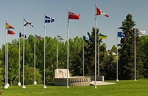 Confederation Park, Calgary - Image: Confederation Park Szmurlo