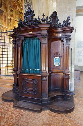Confessional - Confessional at the Parma Cathedral