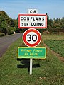 Conflans-sur-Loing-FR-45-panneau d'agglomération-01.jpg