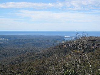 Conjola National Park - View from the lookout