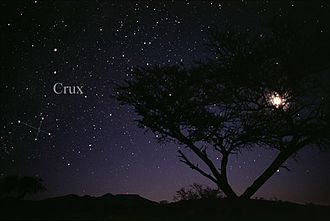 Crux - The constellation Crux as it can be seen by the naked eye