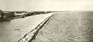 Roxas Boulevard - Construction of Cavite Boulevard, 1912