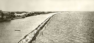 Roxas Boulevard - Construction of Cavite Boulevard, 1912