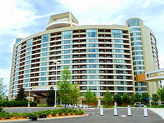 Bay Lake Tower - Image: Contemproary blt exterior