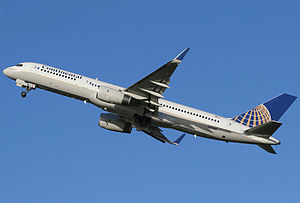 Continental Airlines Boeing 757-200 Spijkers.jpg