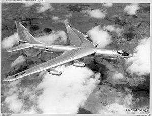 Convair YB-60 - The YB-60 in flight.