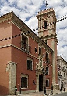 Convent de Sant Vicent Ferrer d'Algemesí (Museu Valencià de la Festa).jpg