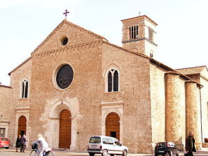 San Francesco, Terni - Church and convent of San Francesco