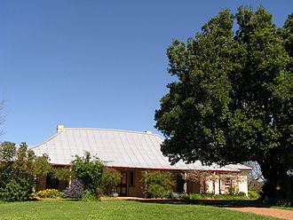 Hamilton Hume - Hume's home: Cooma Cottage at Yass