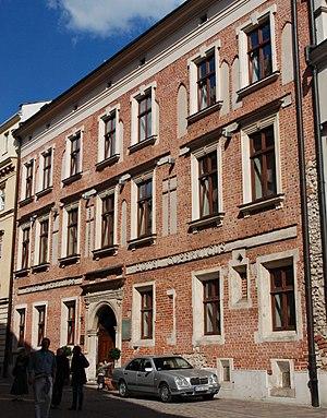 Paweł Włodkowic - House on Kanonicza Street, Kraków, built by Paweł Włodkowic. Now Hotel Copernicus.