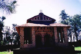 Coptic Orthodox Church in Africa - A Coptic Orthodox Ethiopian Church in Gondar, Ethiopia.