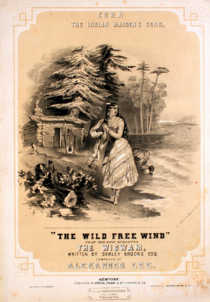 Cora, the Indian Maiden's Song - Image: Cora The Indian Maidens Song 1851