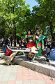 Cosplayers of Guan Ping and Guan Yinping, Dynasty Warriors 8 at FF24 20140727.jpg