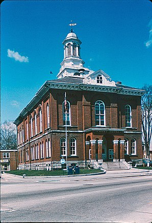 Cheshire County Courthouse in Keene