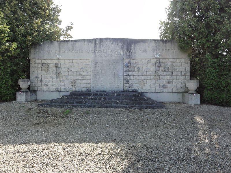Couvonges (Meuse) monument des fusillés