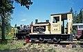 Cowichan Valley Railway diesel locomotive 23 (Sandy) Plymouth 8-ton DLC6 at Forest Museum Duncan BC 16-Jul-1995.jpg