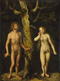 Cranach the Elder Adam and Eve