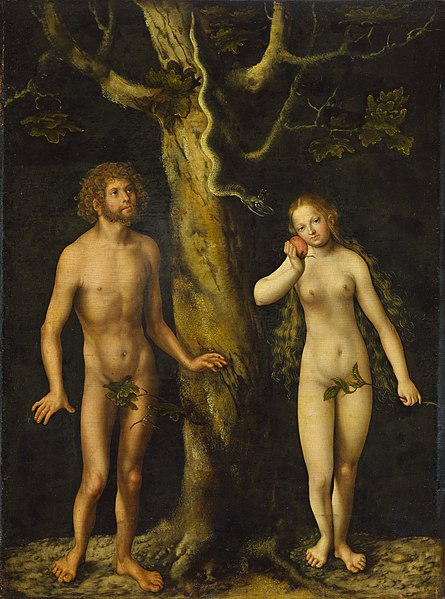 File:Cranach the Elder Adam and Eve.jpg