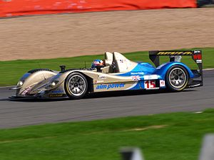 Creation Autosportif - Creation's CA07, now carrying an AIM V10 engine, competing in the 2008 Le Mans Series season