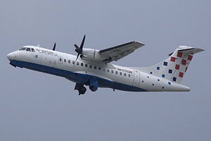 ATR 42-300 der Croatia Airlines