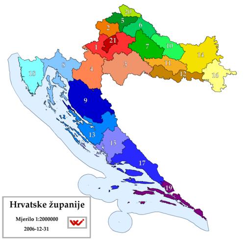 Zemljopis Hrvatske Wikipedija