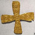 Crocetta d'oro longobarda, da lucca, VI-VIII sec..JPG