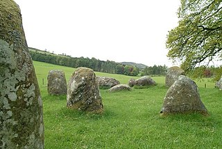 Croft Moraig Stone Circle stone circle in the county Perthshire, Scotland