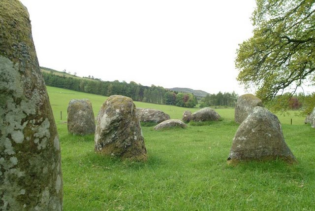 Croft Moraig Stone Circle - geograph.org.uk - 550696