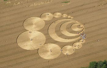 English: Crop circle in Switzerland