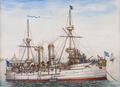 Cruzador D. Carlos (1899) - J. Mello.png