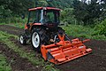 Cultivator tills the field,Katori city,Japan.jpg