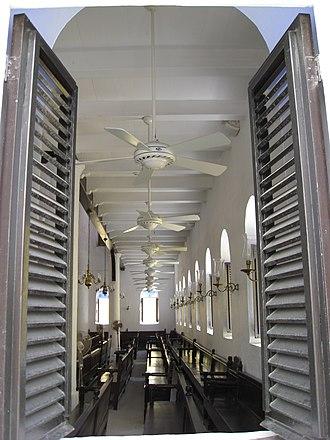 Curaçao synagogue - Image: Curaçao synagogue 4