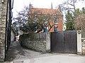 Cut through to the church from Hall Garth (1) - geograph.org.uk - 1778124.jpg