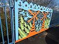 Cutting Edge - railings designed by Anuradha Patel - Northbrook Street, Ladywood (25169307451).jpg