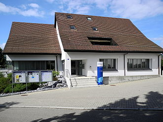 Dänikon - Municipal administration building of Dänikon