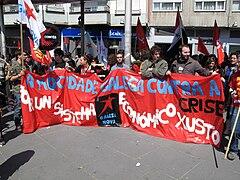 Día do traballo. Santiago de Compostela 2009 04.jpg