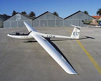 Glaser-Dirks DG-300 - A DG-300 at Sintra Air Force Base, Portugal