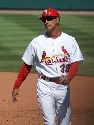Dave McKay (baseball) - McKay as first base coach for the St. Louis Cardinals in 2008