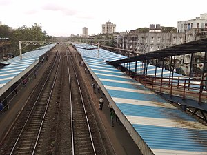 Dahisar railway station - Dahisar railway station - Overview