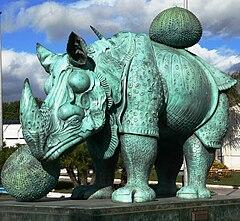 Dalí.Rinoceronte