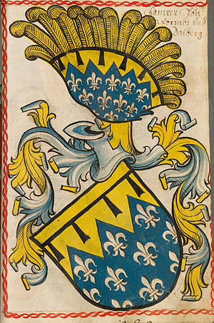 Dalberg - Arms of the Dalberg family at Scheiblers Wappenbuch