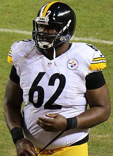 American football defensive lineman