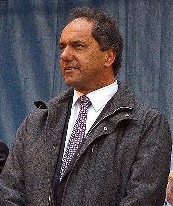 Daniel Scioli en la UNLP
